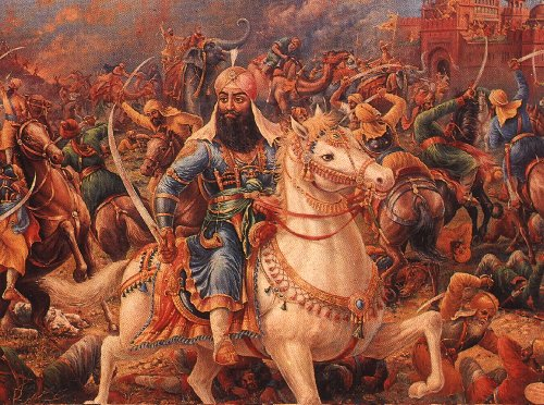 Bhai Jassa Singh Ramgarhia on the battlefield