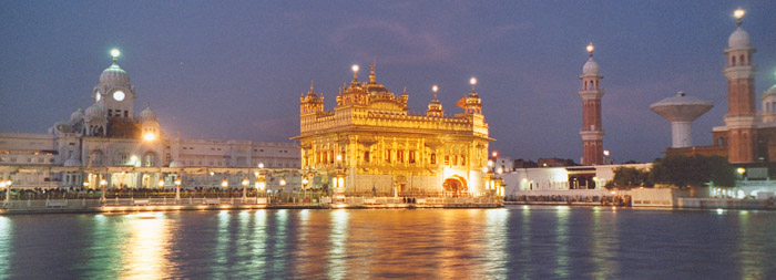 Golden Temple in the Evening