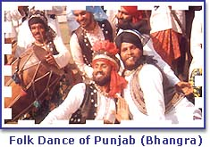 Folk Dancersn of Punjab