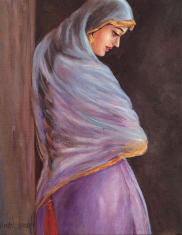 Silent reflections of a Punjabi Lady