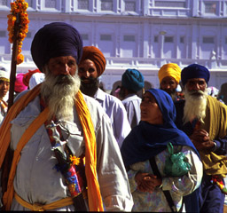 Sikhs on the move