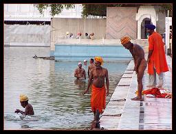 Bathing in the Golden Temple, Memories of Amritsar - The Golden Temple