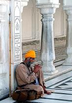 Resting in the Golden Temple, Memories of Amritsar - The Golden Temple